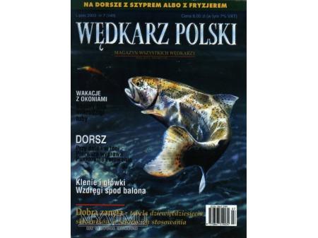 Duże zdjęcie Wędkarz Polski 7-12'2003 (149-154)