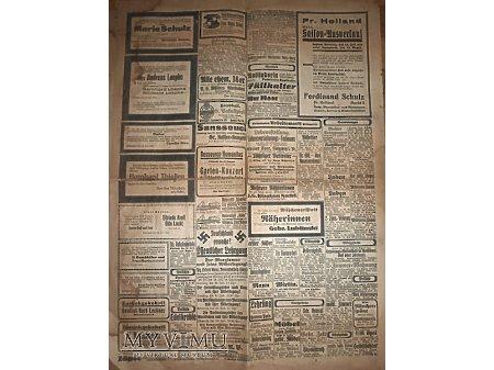 Duże zdjęcie Elbinger Zeitung z 27 lipca 1931