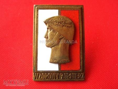 """Odznaka """"Wzorowy Żołnierz"""" - brązowa"""