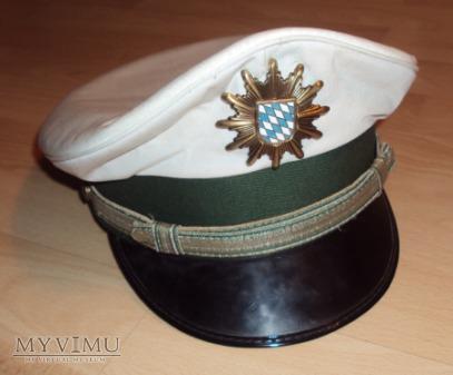 Czapka oficera młodszego Polizei Bayern