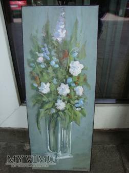Cezary Garbowicz Kwiaty w wazonie