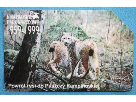 Kampinowski Park Narodowy 1959-1999