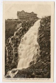Karkonosze - Elbfall u. Baude 1924