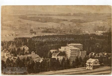Rabka 1957. Sanatorium Pstrowskiego