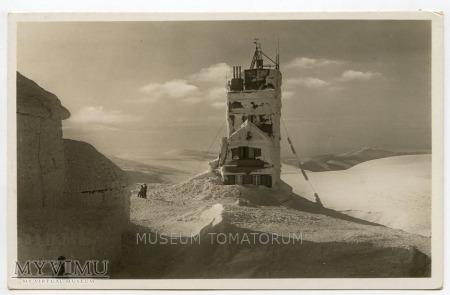 Duże zdjęcie Karkonosze Śnieżka Schneekoppe Obserwatorium 1930