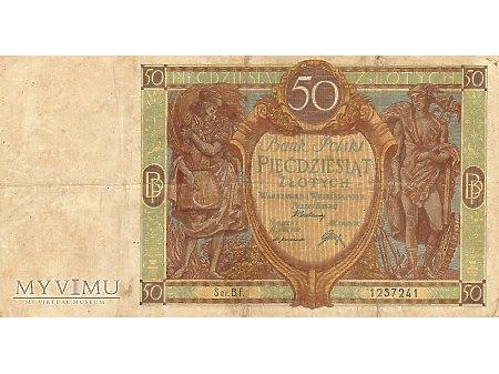 50 złotych 01.09.1929 r.