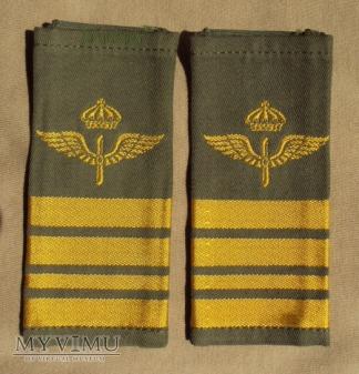 Szwecja - oznaka stopnia flygvapnet: major