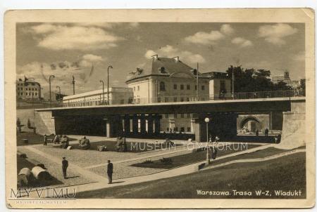 Warszawa - Trasa W-Z (Lapidarium) - 1950a
