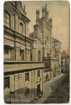 W-wa - Katedra Św. Jana - 1900 ok.