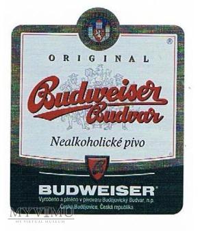 budweiser budwar nealkoholické pivo