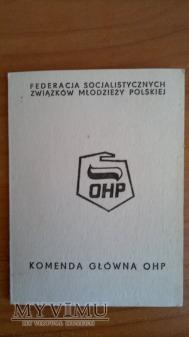 Duże zdjęcie Legitymacja OHP