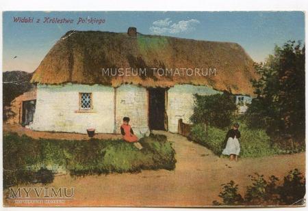 Widoki z Królestwa Polskiego - 1917