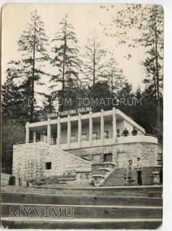 Krynica - Góra Parkowa Dolna stacja - 1960