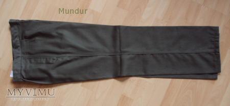 NVA letnie spodnie oliwkowe