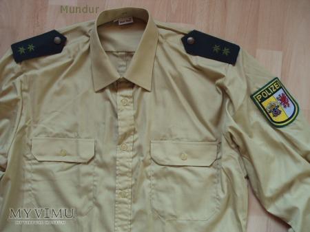 Polizei Mecklemburg-Vorpommern - koszula służbowa