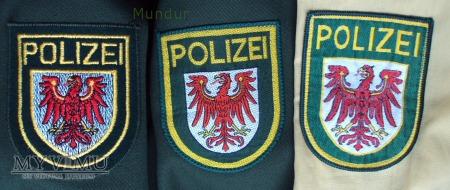 Emblemat Polizei Brandenburg
