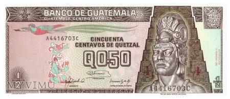 Gwatemala - 0,5 quetzala (1992)
