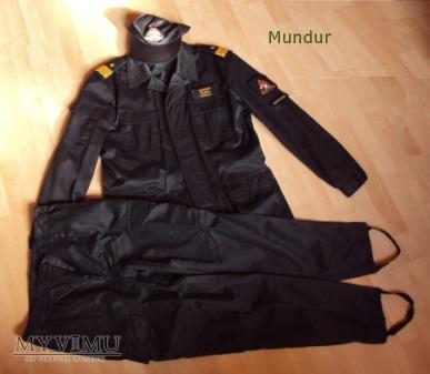 Mundur kadry dowódczo-sztabowej PSP