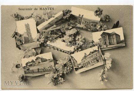Pamiątka z Mantes - 1915
