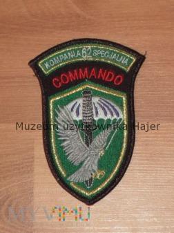 Naszywka 62 Kompania Specjalna Commando