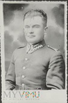 Wachmistrz Piotr Wróbel z 25 Pułku Ułanów Wielk.