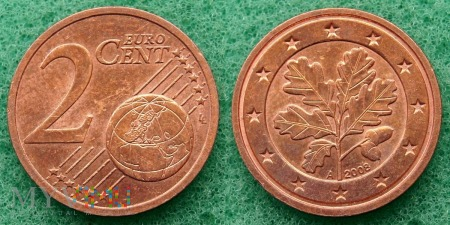 2 EURO CENT 2008 A