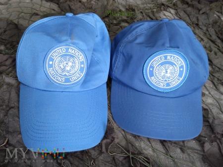 Czapeczki ONZ
