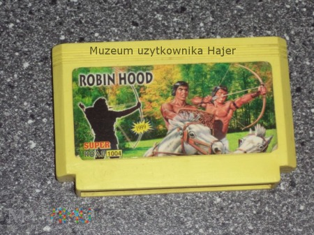 ROBIN HOOD SUPER 1999 Kartridż Gra Pegasus
