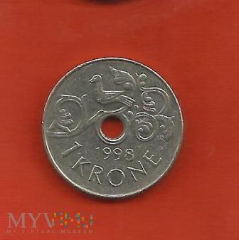 Norwegia 1 korona, 1998 / 2001