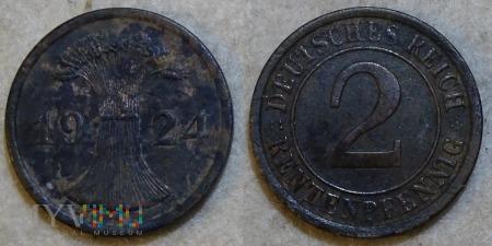 Niemcy, 1924, 2 Rentenpfennig