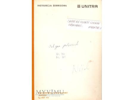 Instrukcja serwisowa radia MAGDA
