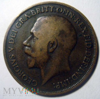Wielka Brytania 1 pens - 1917r