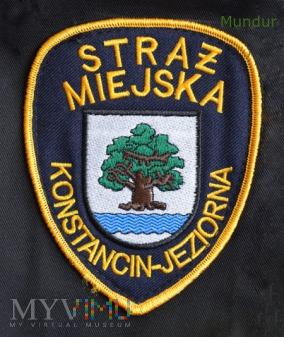 Oznaka Straż Miejska Konstancin-Jeziorna
