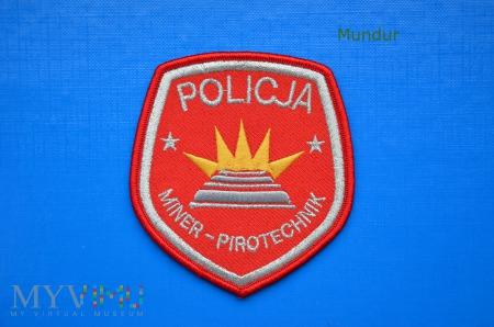 Oznaka policyjna MINER-PIROTECHNIK