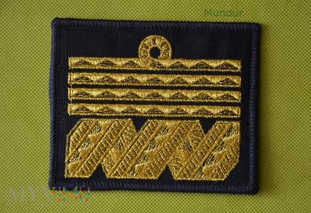 Oznaka stopnia MW - admirał