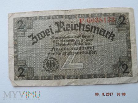 Zwei Reichsmark - 2 Reichsmark 1940r.