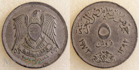 Egipt, 5 Piastres 1972
