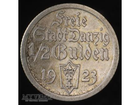 1/2 Guldena 1923