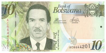 Botswana - 10 pula (2012)