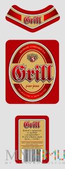 Projekt etykiet do piwa GRILL