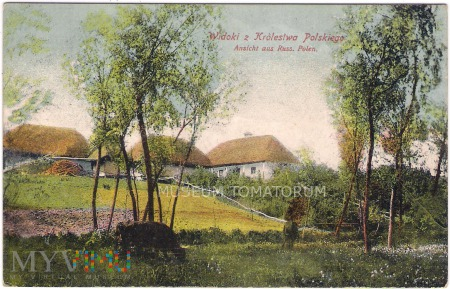 Widoki z Królestwa Polskiego - 1916