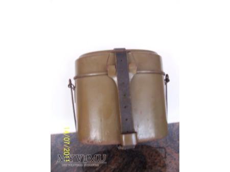 Duże zdjęcie MENAŻKA NIEMIECKA M31 - STALOWA 1943 ROK