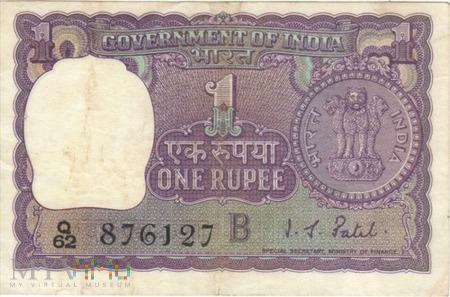 INDIE 1 RUPIA 1968