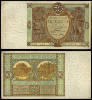 50 zł 1929r.