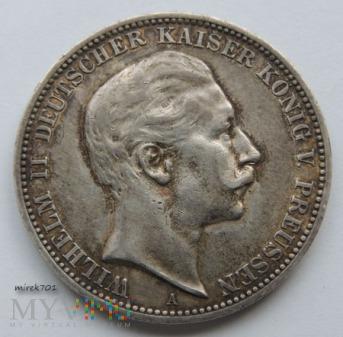 3 Marki Wilhelm II 1910 A