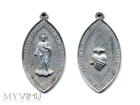 Medalik Stow. Najświętszego Serca Jezusowego
