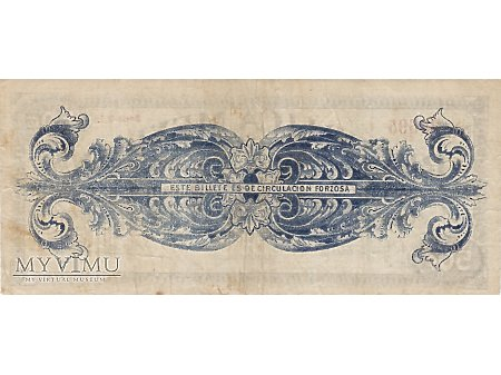 50 Centavos 1914 rok.