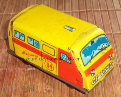 Аварийная 04 - blaszany samochód zabawka ZSRR