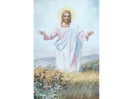 Wesołych Świąt Wielkanocnych Jezus Chrystus 1934