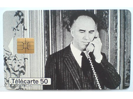 Michel Piccoli Luis Buñuel Karta telefoniczna 1998